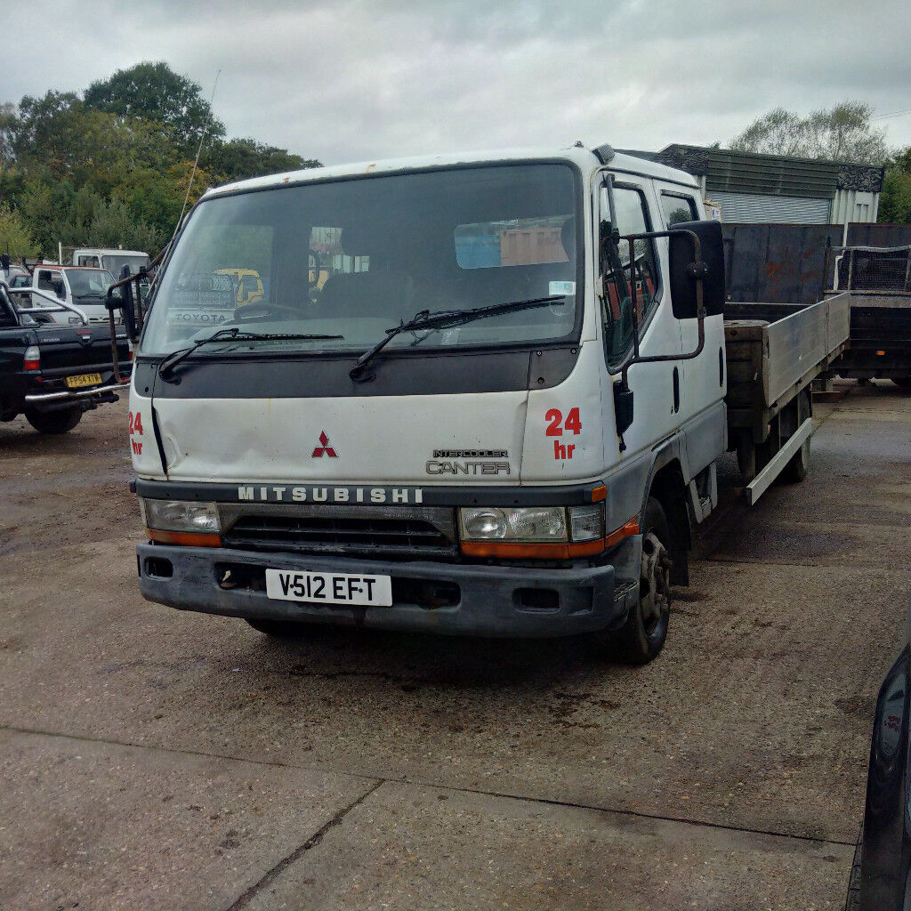 mitsubishi canter fe649 4d34t 3 9 diesel 6 tyres 7 5 ton truck in brentwood essex gumtree. Black Bedroom Furniture Sets. Home Design Ideas