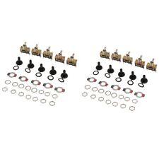 10pcs Heavy Duty Rocker Toggle Switch 15A 250V SPST 2 Pin