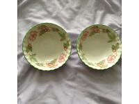2 Soup/Cereal Bowls from Johnson Bros Collection