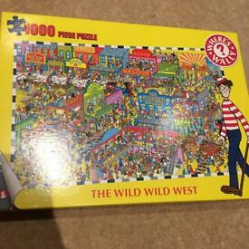 Wheres Wally 1000 piece jigsaw