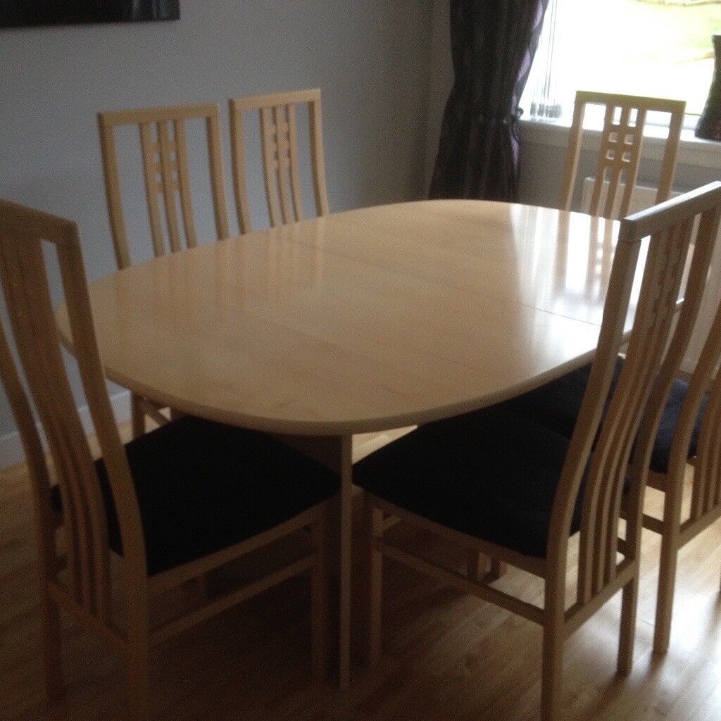 Ding Table Chairs And Sideboard