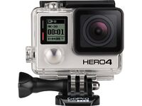 Go pro 4 black edition (new with warranty)