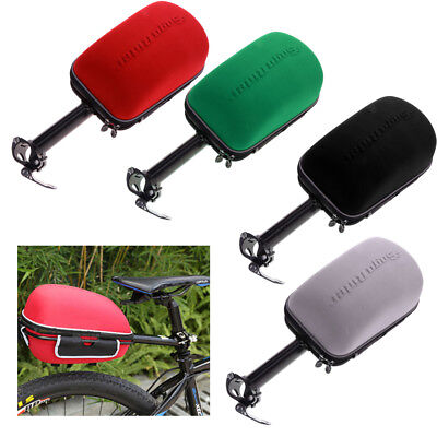 Bike Hard Shell Tail Bag Bicycle Repair Tools Pocket Pack for Outdoor Riding Pocket Shell Pack