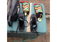 Football boots, size 10