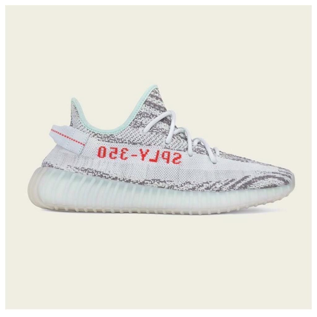 21dfc85dd227b ADIDAS x Kanye West Yeezy Boost 350 V2 BLUE TINT 16.12.17 With Original  Receipt 100sales