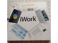 iWork 08. For MAC. Brand new boxed
