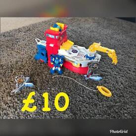 Rescue bots items