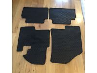 KIA SPORTAGE 212-2016 ORIGINAL CAR MAT AND BOOTLINER COMPLETE SET