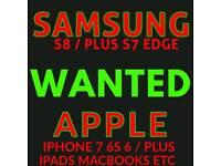 SAMSUNG S8 UNLOCKED iPhone 10 7 x 8 PLUS 64GB 128gb 256gb MIDNIGHT BLACK ORCHID SPACE GREY ROSE GOLD
