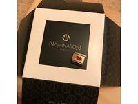 NOMINATION heart in envelope enamel charm.