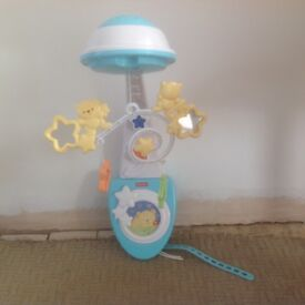 Fisher Price Starlight Musical Light Projector. Cot Mobile