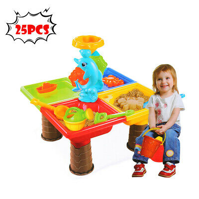 Baby Beach Toys (Children Summer Beach Toys Large Baby Water Digging Sandglass Play Sand)