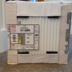 Barlo Delta Compact Type 22 Double-Panel Double Convector Radiator T22505CD 500x500mm