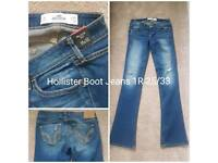 Hollister Superdry and H and M Jeans