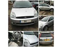 Ford Fiesta Zetec 2004 1.4 Petrol Paint Code Moondust Silver 62 Front Bumper All Parts Available