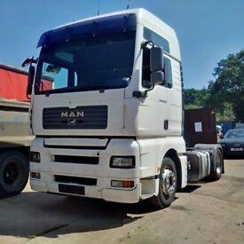 Left hand drive MAN TGA 18.430 4X2 tractor unit. ZF intarder.