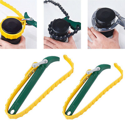Adjustable Belt Strap Wrench Spanner Oil Filter Removal Wrench Multi-Purpose