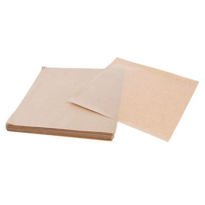200 Pcs Kraft Food Wrapping Paper basket liners Tray Liner butchers Tissue Food Basket Liner
