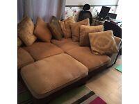 Large DFS Corner Sofa Good Condition