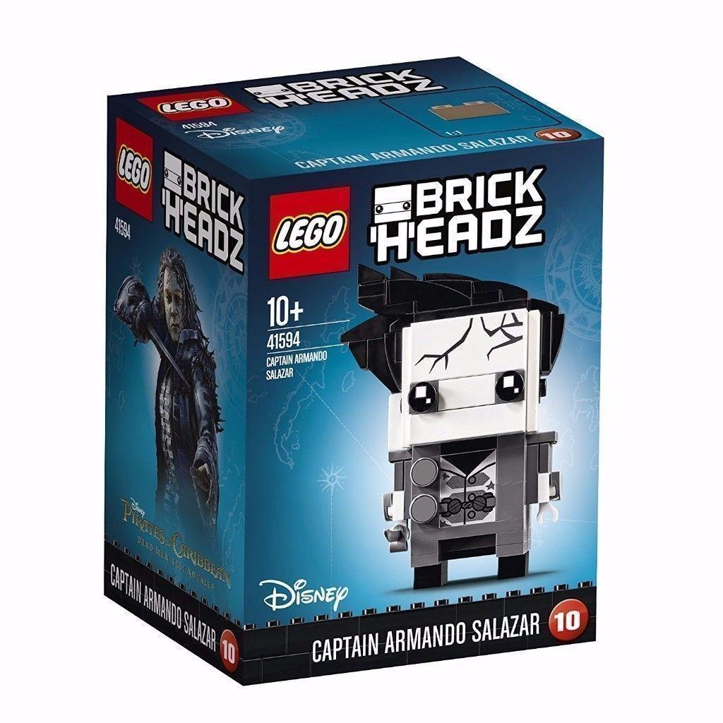 Lego BrickHeadz Captain Armando Salazar 41594: Brand New