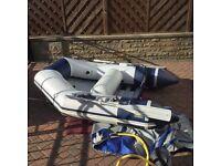 Zodiac Cadet C200 Tender Inflatable Dinghy Boat