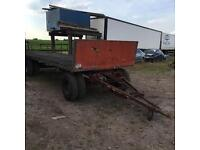 20ft Harvest Trailer with Drawbar Turntable