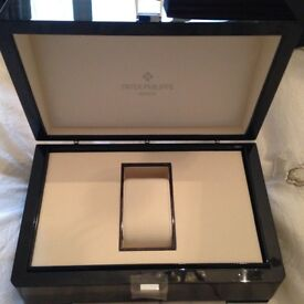 Brand new Patek Philippe watch box