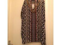 new with tags dressy kaftan size XL will fit 18/20/22