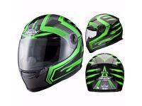 Shox Sniper Skar Full Face Motorcycle Helmet Size L (59-60)