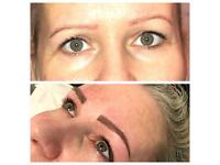Semi permanent make up treatments
