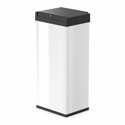 Hailo Waste Bin Dust Trash Disposal Box Big-Box Swing Size XL 52L White 0860-231