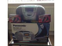 Panasonic potable stereo Radio/Cd and cassette player