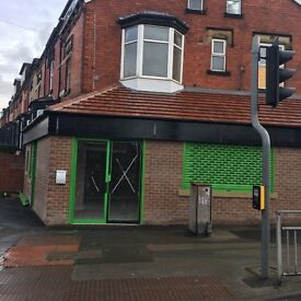 Newly Refurbished Shop Now Available On Busy Parade Of Harehills Lane