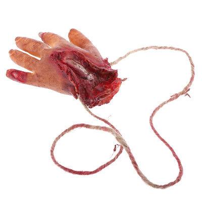Gefälschte Körperteile Halloween (Scary Halloween gefälschte Hand Körperteile Prop Spukhaus Streich Tricky)