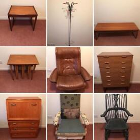 Mid Century Scandinavian Job Lot
