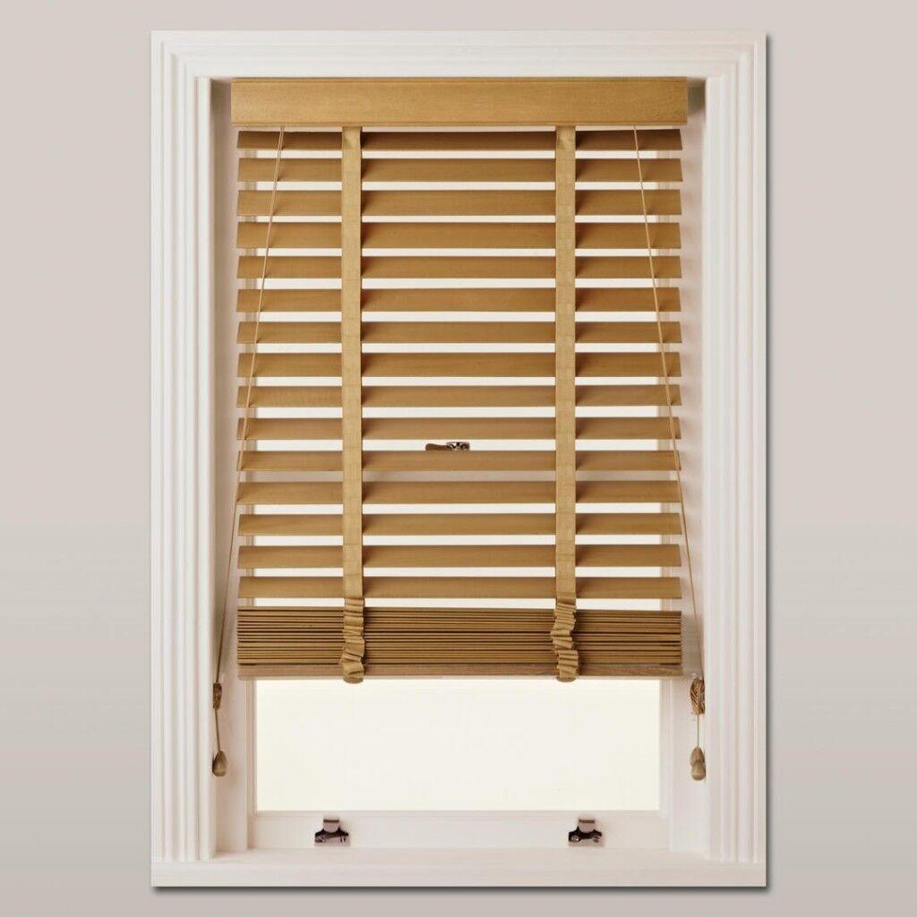 John Lewis wood Venetian blind available - 120 cm width