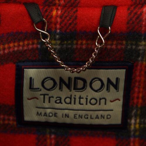 ≥ Houtje Touwtje Jas Dames Felrood London Tradition