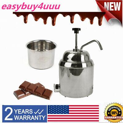 Hot Chocolate Nacho Fudge Cheese Heating Machine Dispenser Warmer 60hz 500w