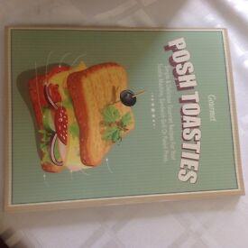 Breville sandwich toaster plus recipe book