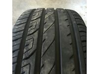 X2 Part worn Mul perform tyres 205/45R17