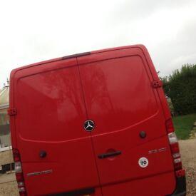 mercedes sprinter rear doors 2014