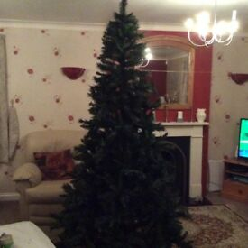 FESTIVE TREE COLLECTION PRINCESS GREEN PINE 2.4 m (8ft) Brand new