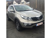2011 NEW KIA SPORTAGE AWD 4X4 LHD LEFT HAND DRIVE AUTOMATIC LOADED SAT NAV, REVERSE CAMERA BLUETOOTH