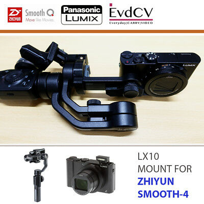 LX10 Mount for Zhiyun Smooth-4 Gimbal