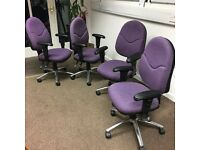 FREE! 4 OFFICE CHAIRS
