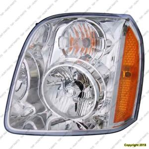 Head Light Driver Side Exclude Denali High Quality GMC Yukon 2007-2014