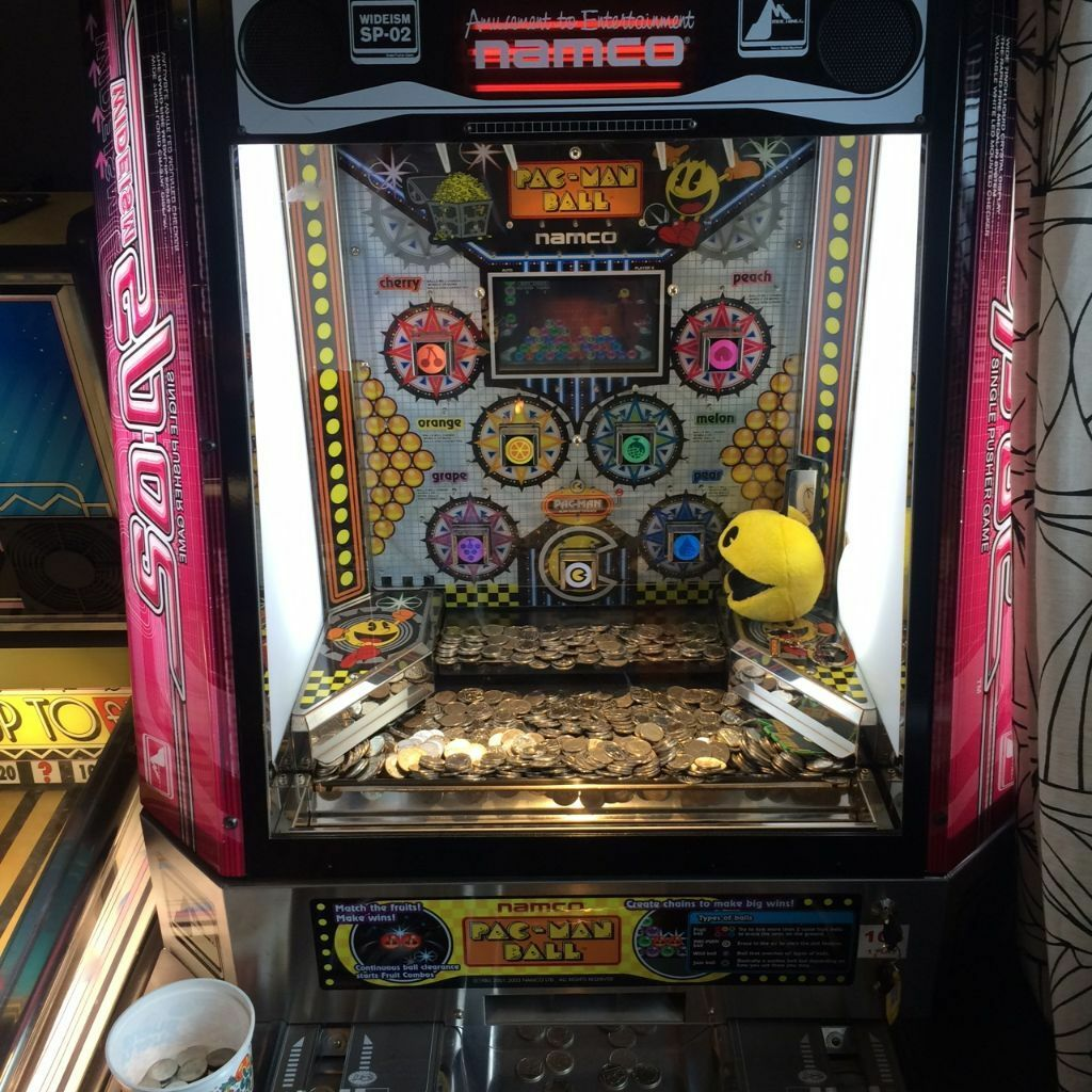 used pacman machine for sale