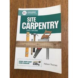 Site Carpentry- level 2 Diploma