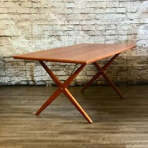 Mid Century Teak Walnut And Rosewood Dining Tables
