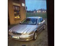 Jaguar x type 2002 petrol fully loaded